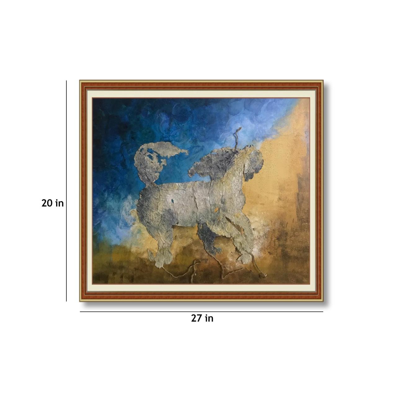 Mystic Horse Slider 3/4