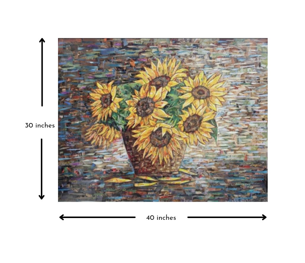 Sunflowers Slider 3/4