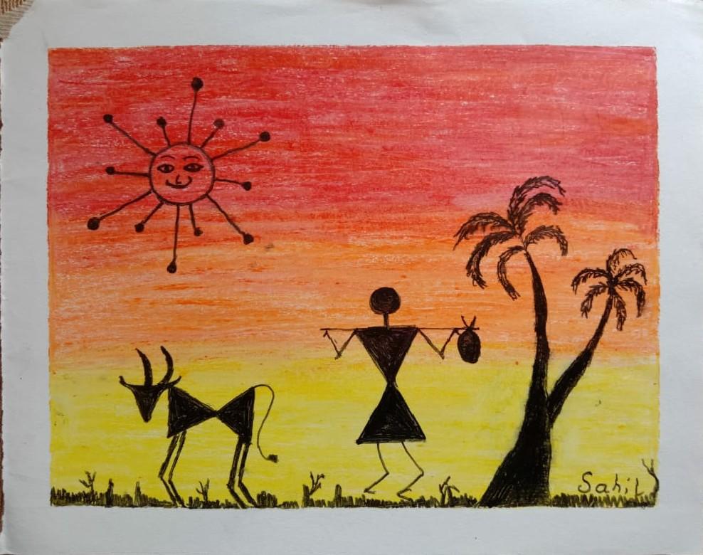 Warli Painting Slider 1/4