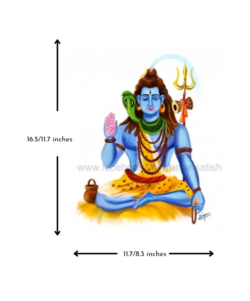 Lord Shiva Slider 3/4