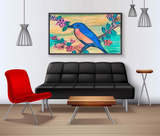 Eastern Blue bird Slider 2/3