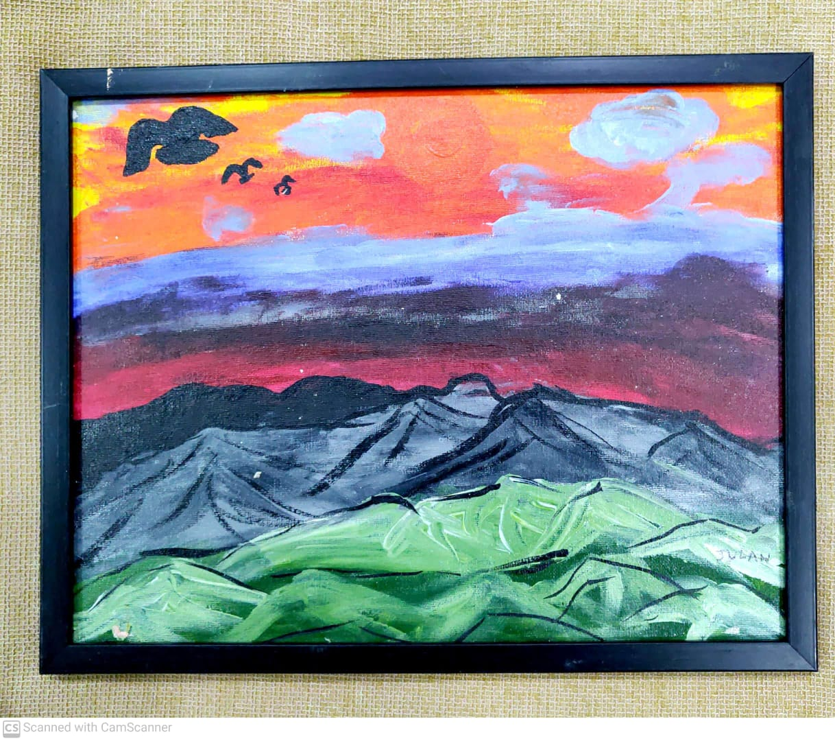 Volcanic Landscape Slider 1/4