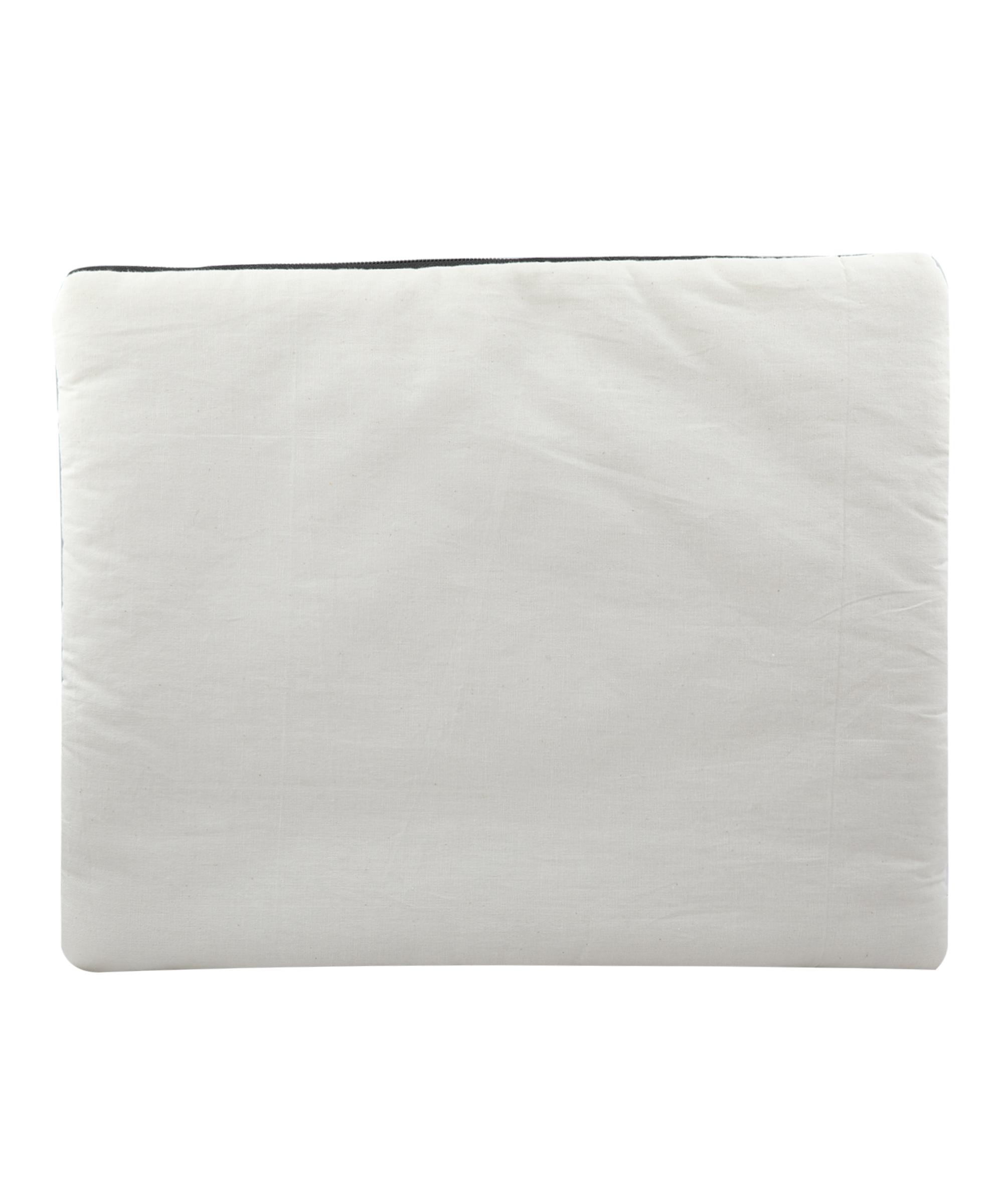 "Handmade block printed Laptop Sleeve, Kora Cotton, 16""x12"" for Laptop/Tablet/MacBook Slider Thumbnail 4/4"