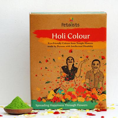 Eco-friendly Holi Colour Green