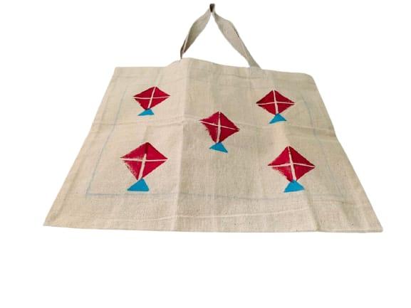 Kora Tote Bag with Red Kites Slider Thumbnail 2/5