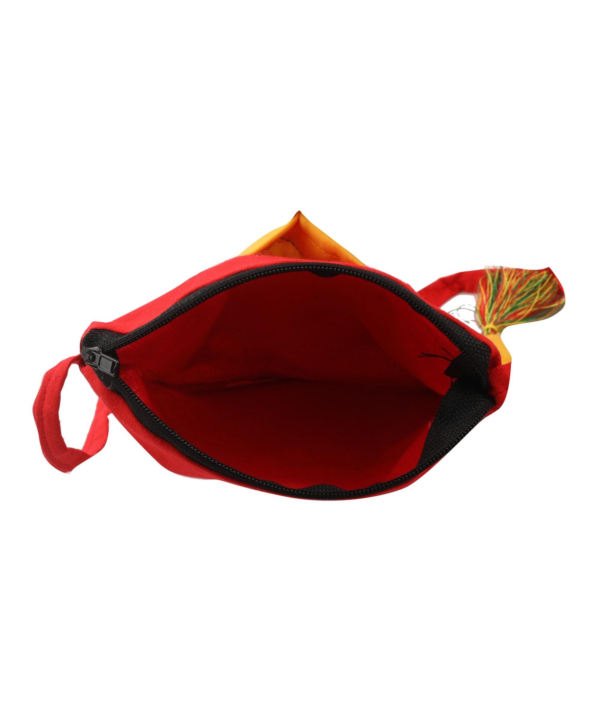 WIEA Turmeric Yellow Sling Bag (Set of 2) Slider 5/5