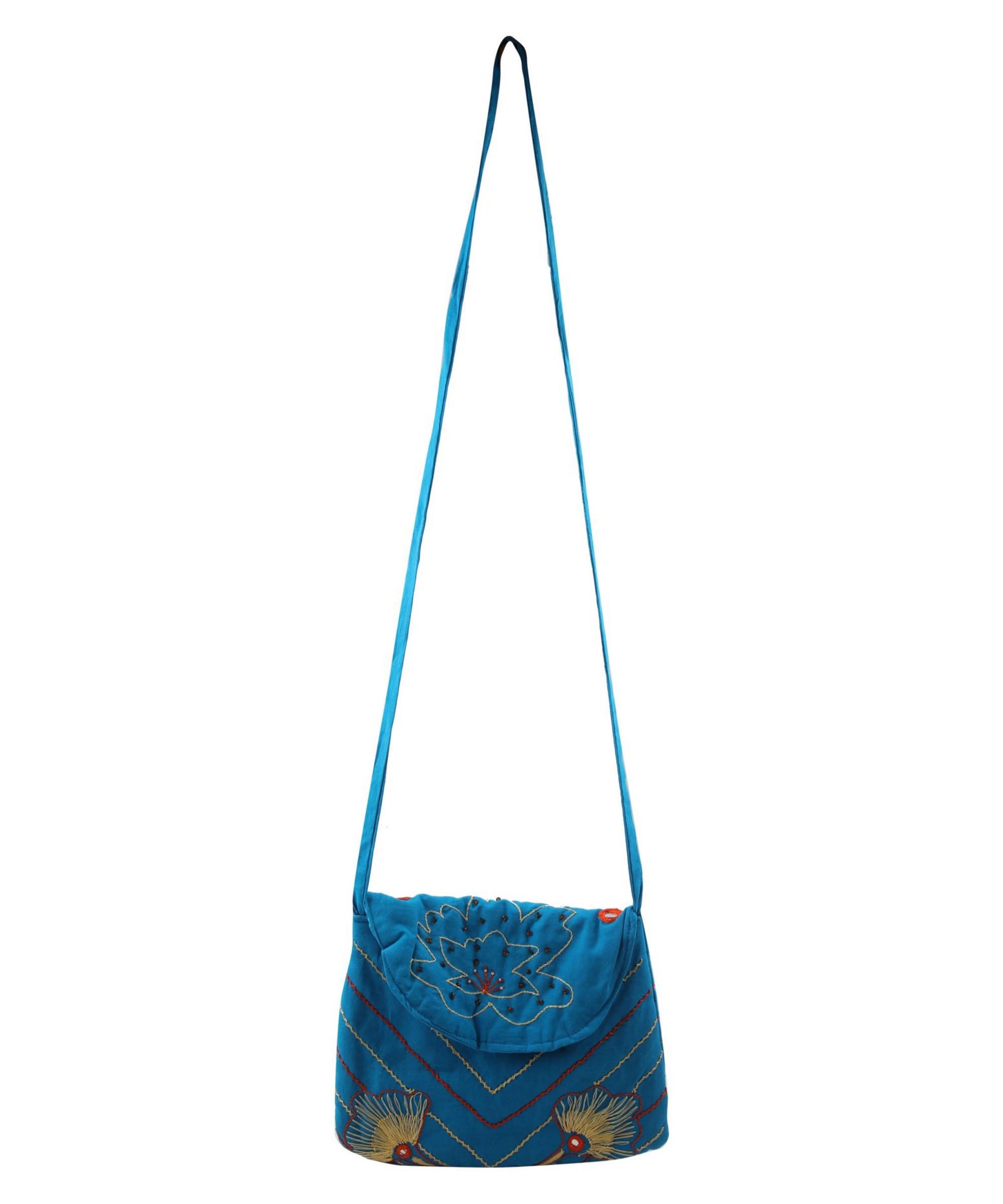 Embroidered Sling Bag Slider 2/5