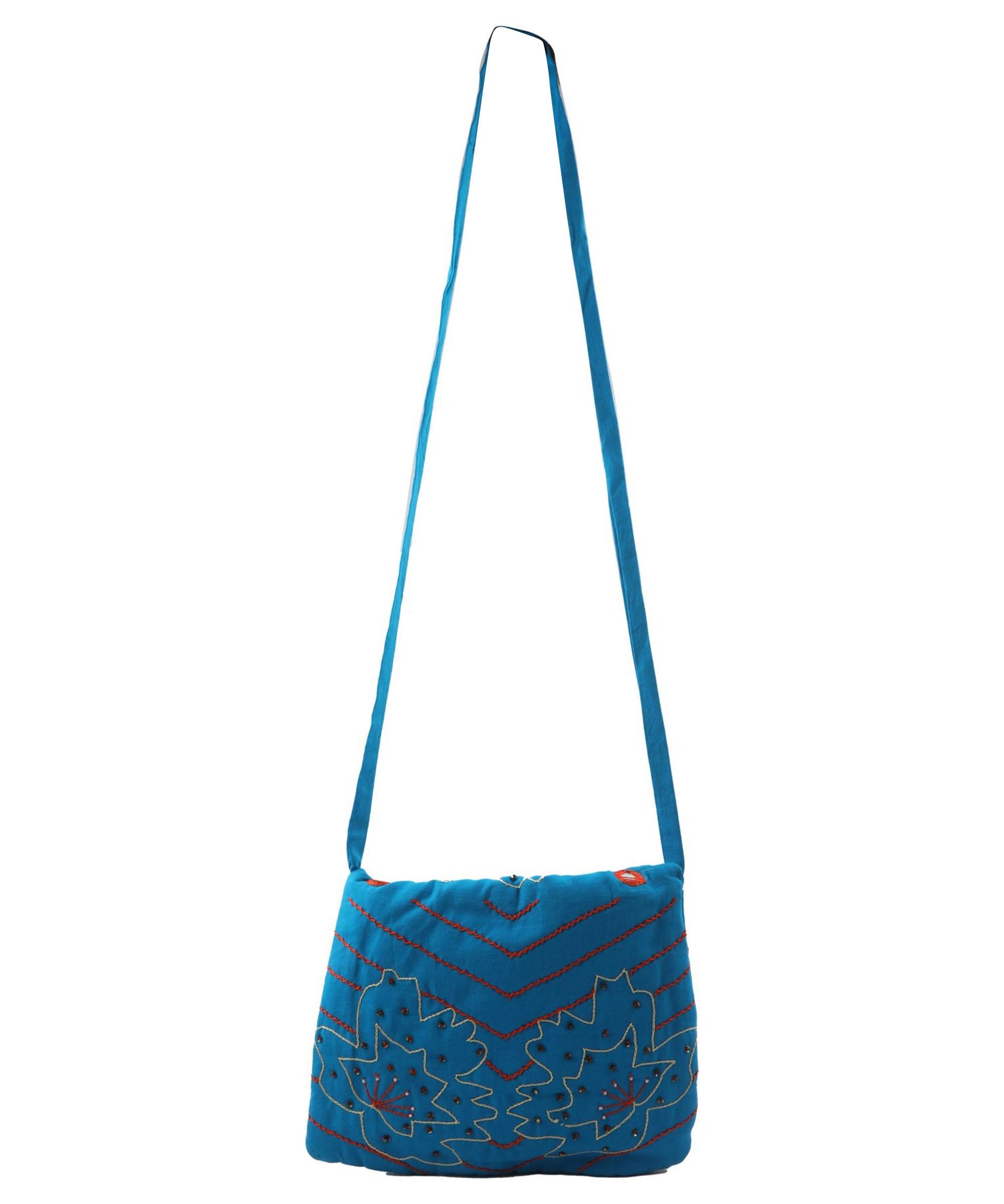 Embroidered Sling Bag Slider 4/5