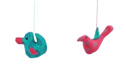 Patchwork Soft Toy - Duck & Bird (Combo)