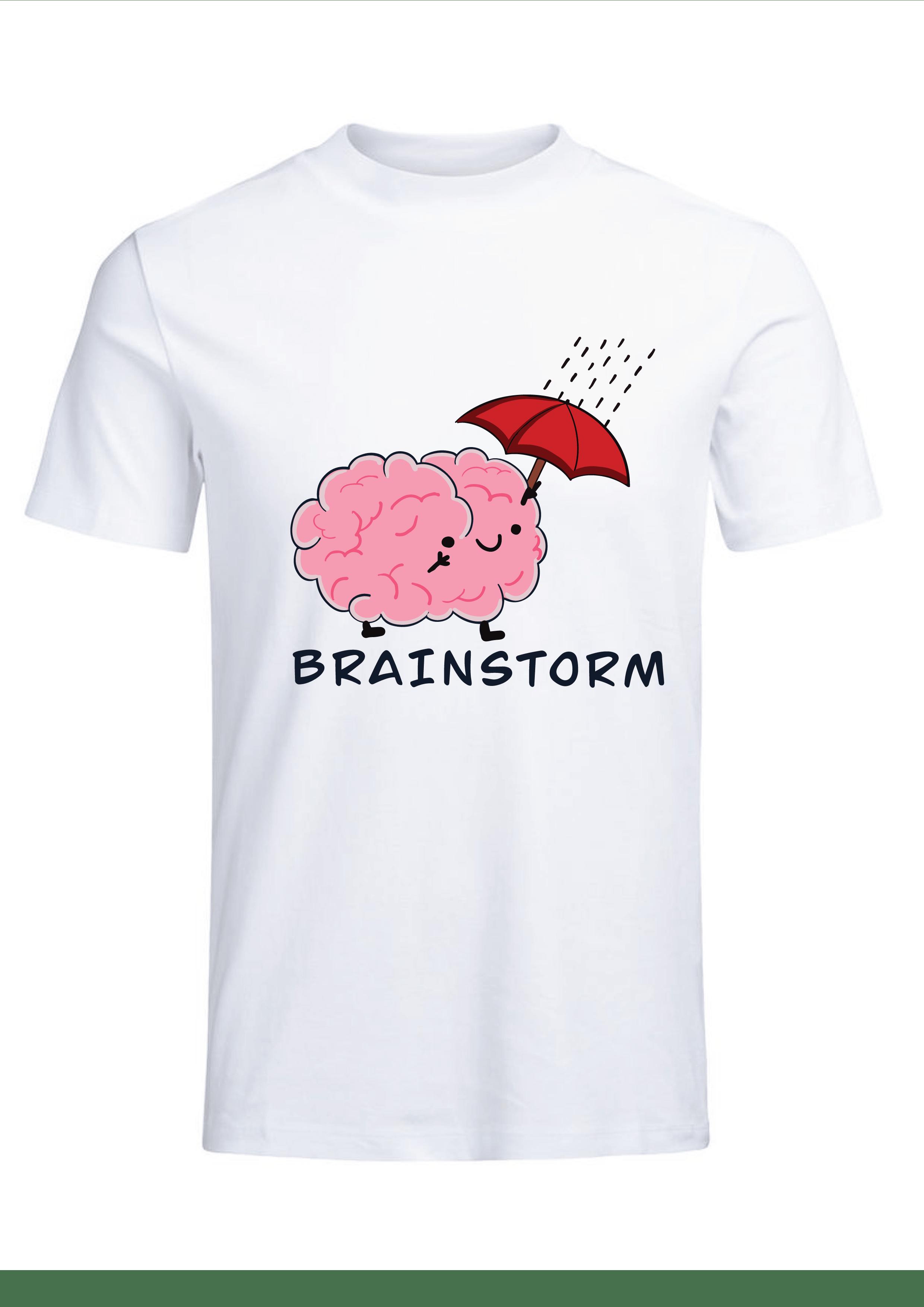 Brain Storm T-shirt for Men Slider Thumbnail 2/4