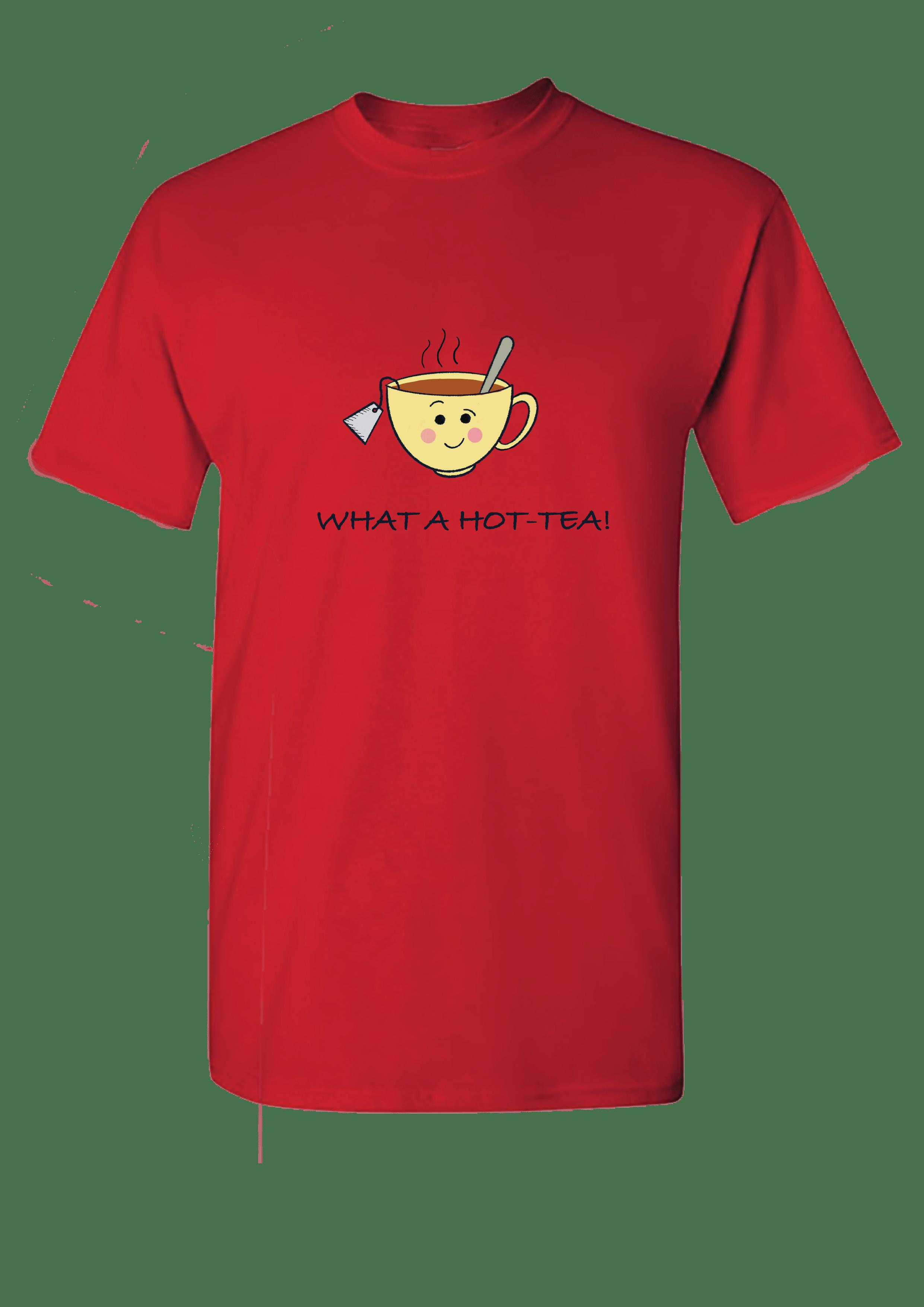 What a Hot- Tea Men's T-shirt Slider Thumbnail 4/4