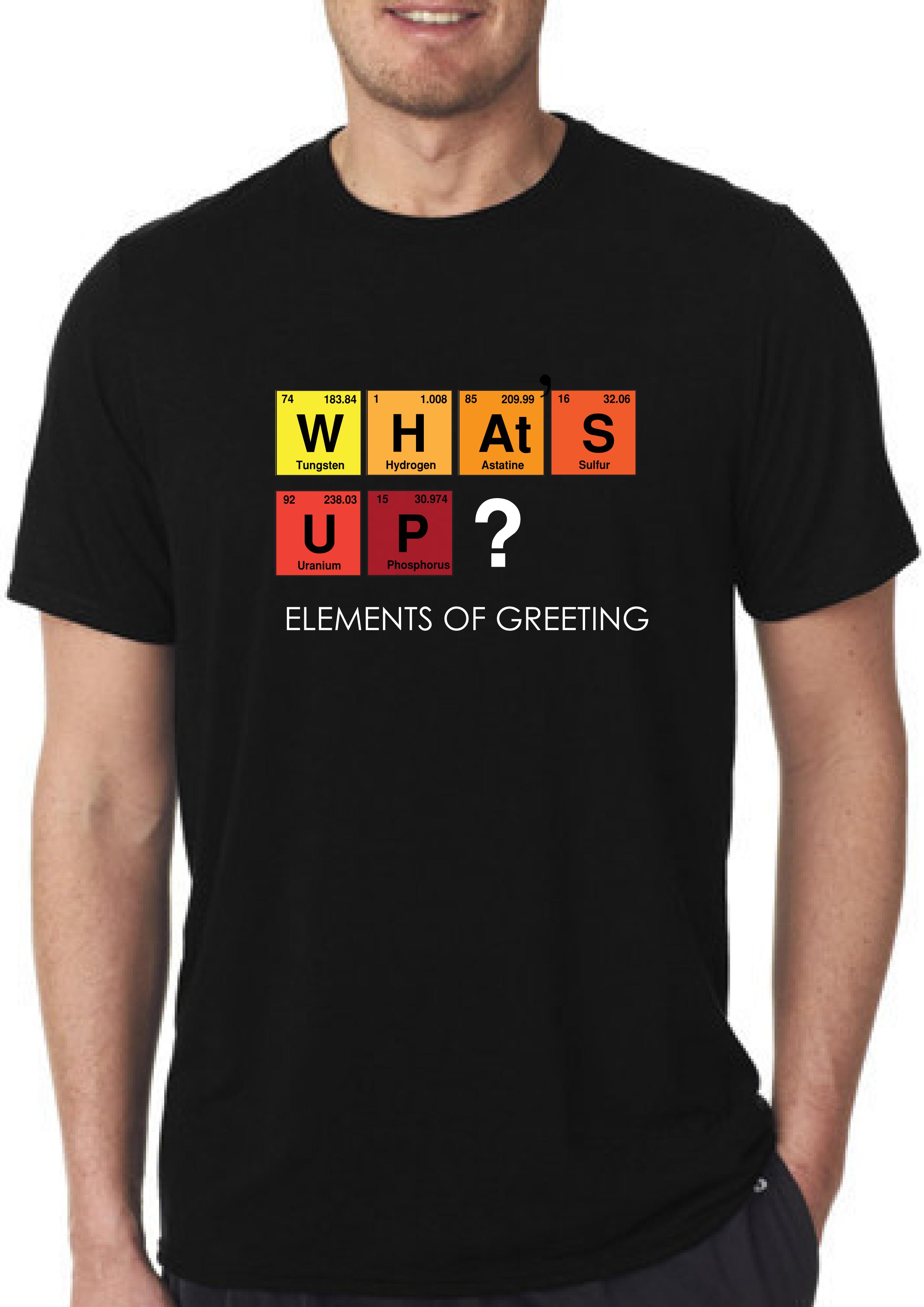 What's Up? T-shirt for Men Slider Thumbnail 1/2