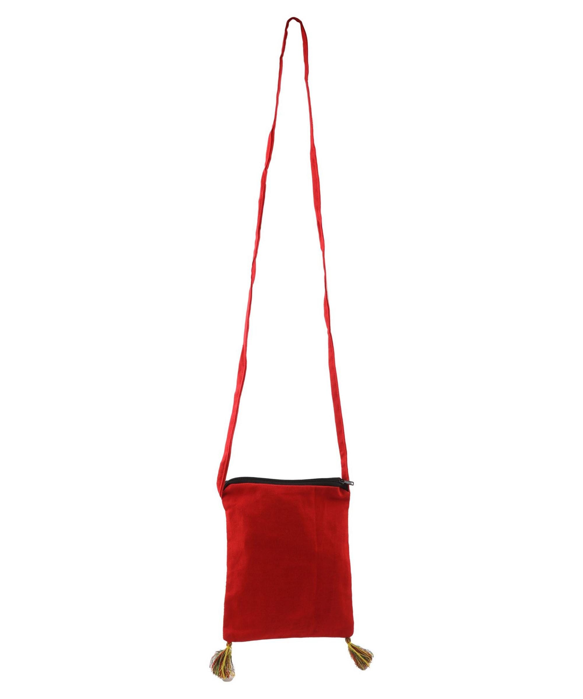 WIEA Turmeric Yellow Sling Bag (Set of 2) Slider 3/5