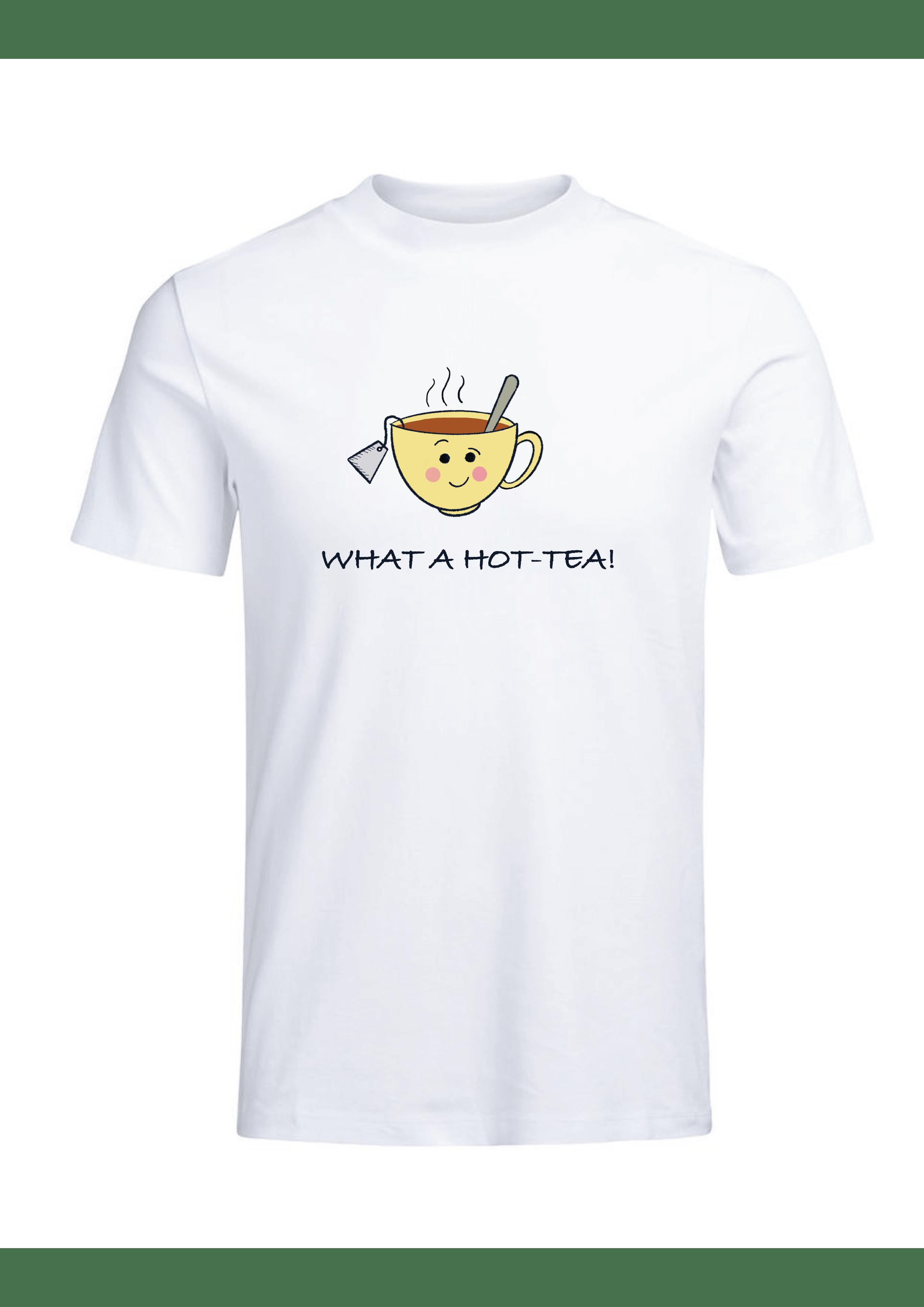 What a Hot- Tea Women's T-shirt Slider Thumbnail 2/4