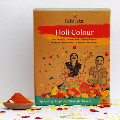 Eco-friendly Holi Colour Orange