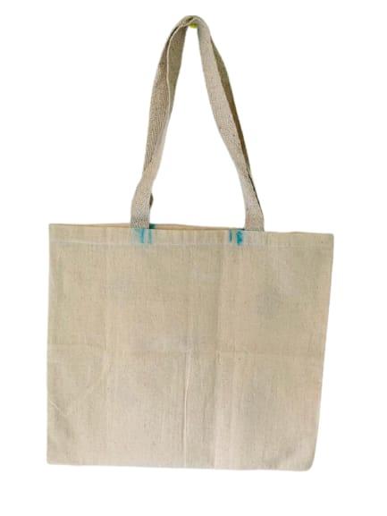 Kora Tote Bag with Blue Kites Slider Thumbnail 4/5