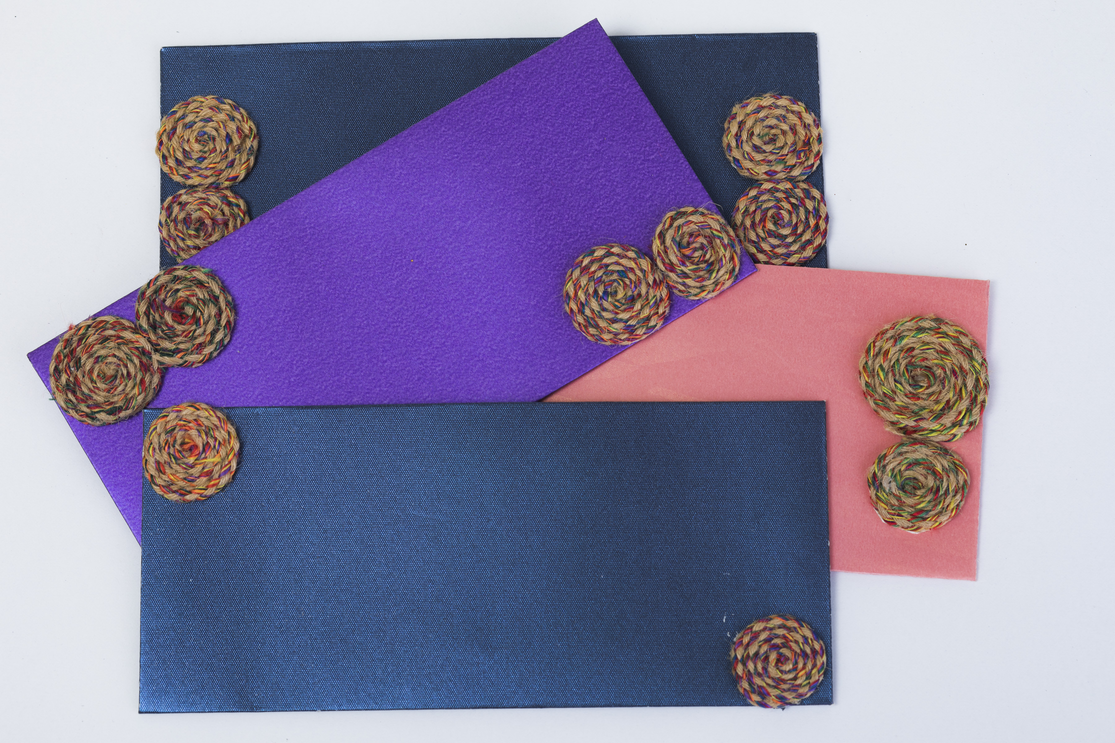 Assorted Recycled Paper Envelopes (Pack of 12) Slider Thumbnail 1/3