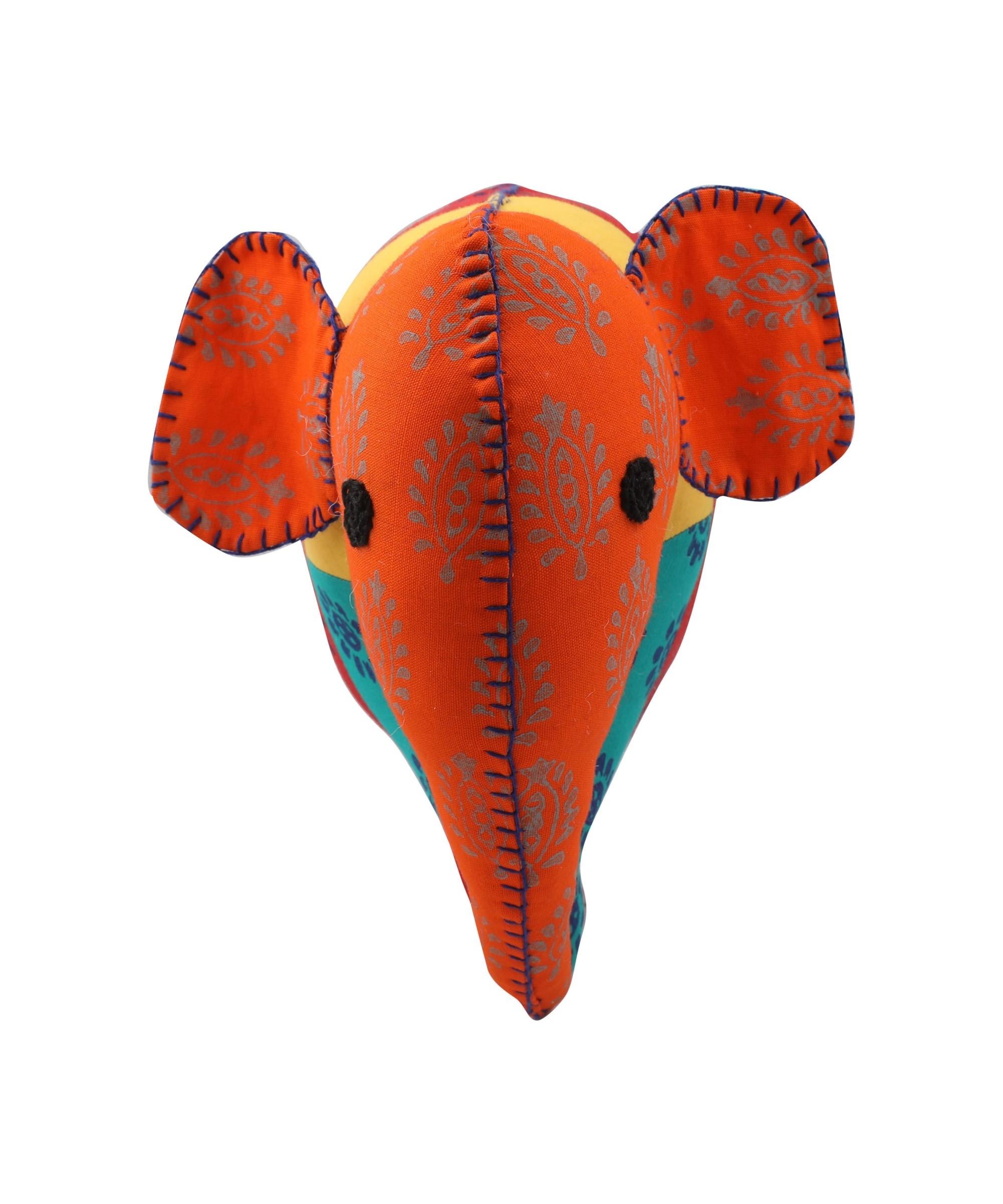 Elephant - Patchwork Soft Toy Slider 3/5
