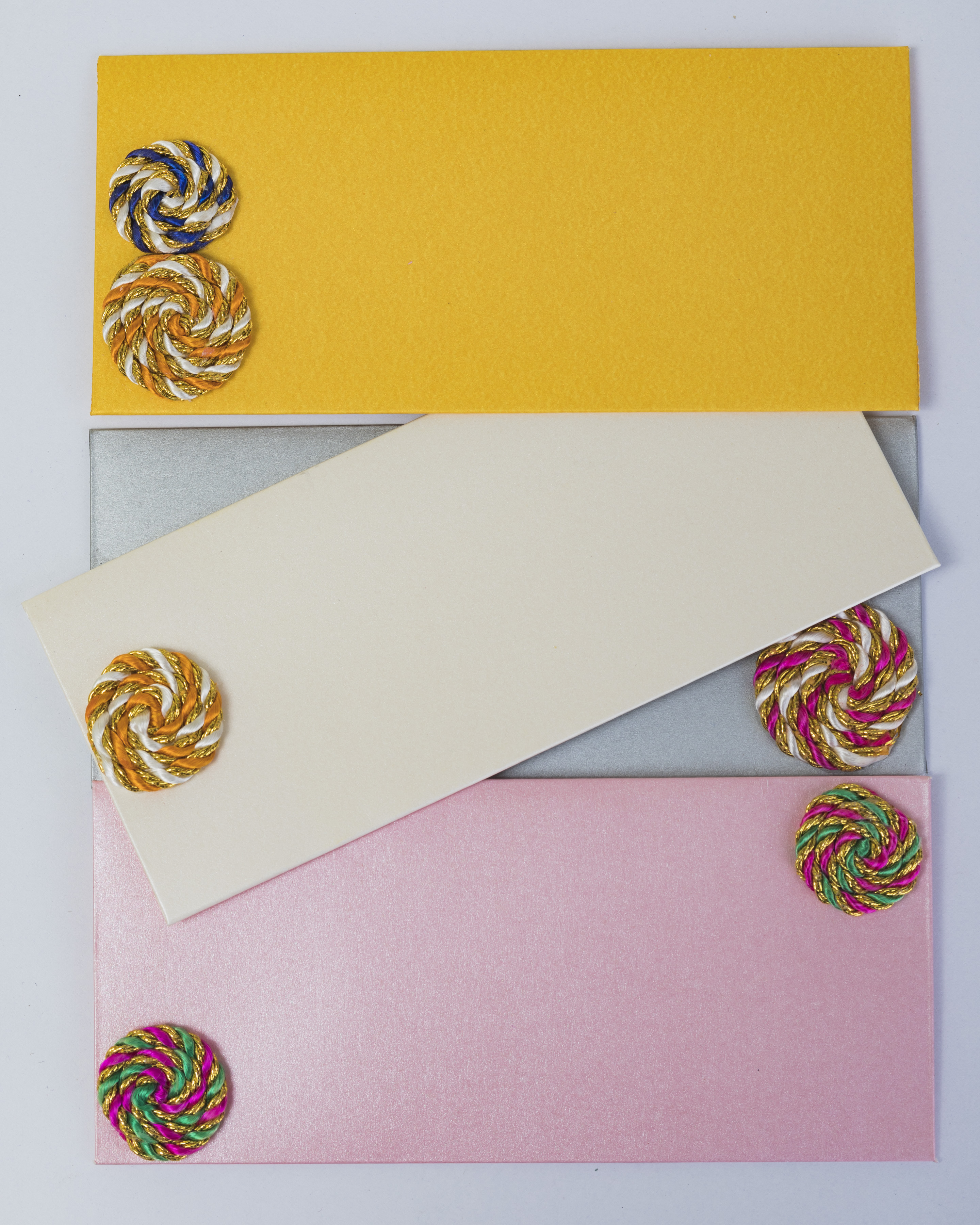 Assorted Recycled Paper Envelopes (Pack of 12) Slider Thumbnail 2/3