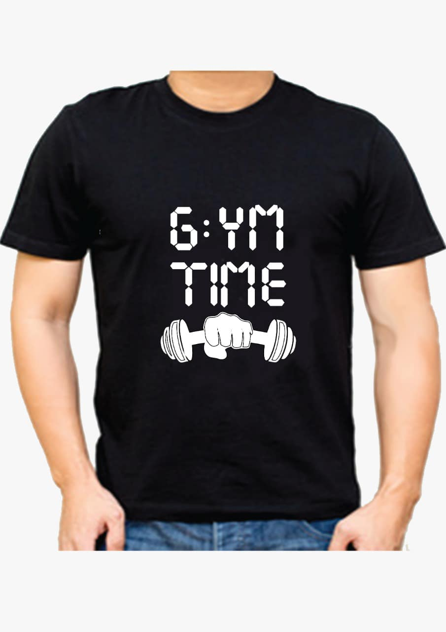 Gym Time T-shirt for Men Slider Thumbnail 1/2