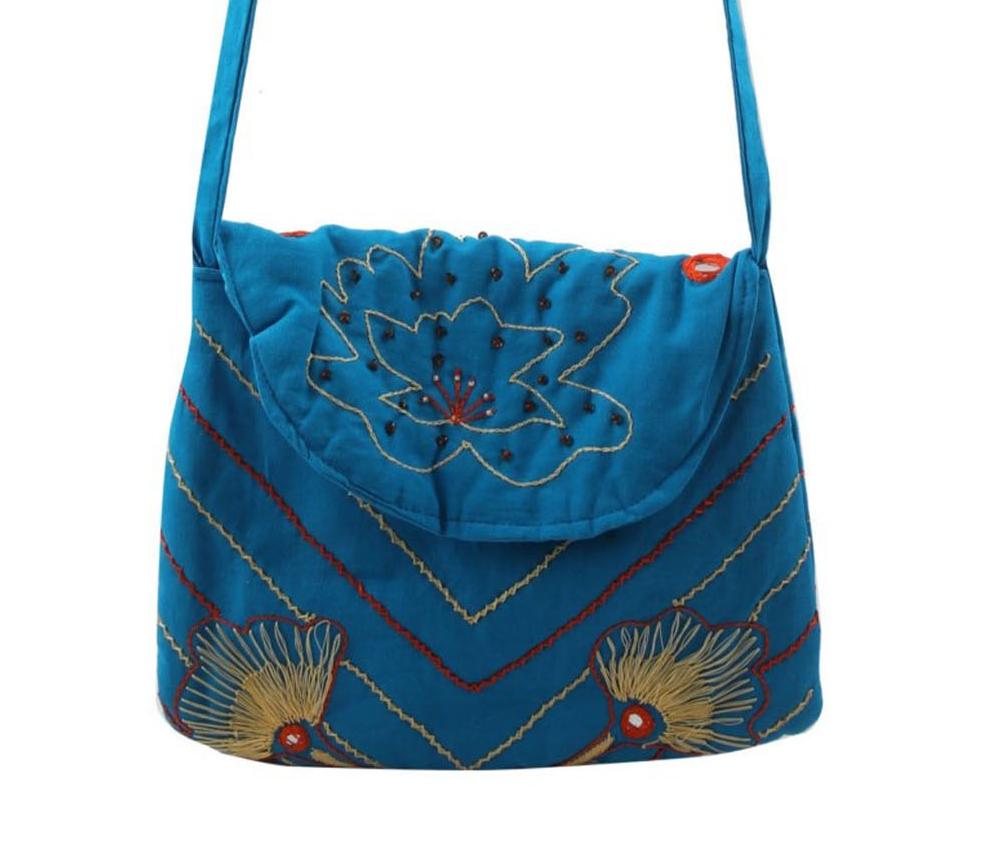 Embroidered Sling Bag Slider 1/5
