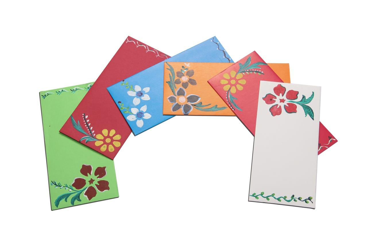 Assorted Painted Gift Envelope (pack of 20) Slider Thumbnail 1/1