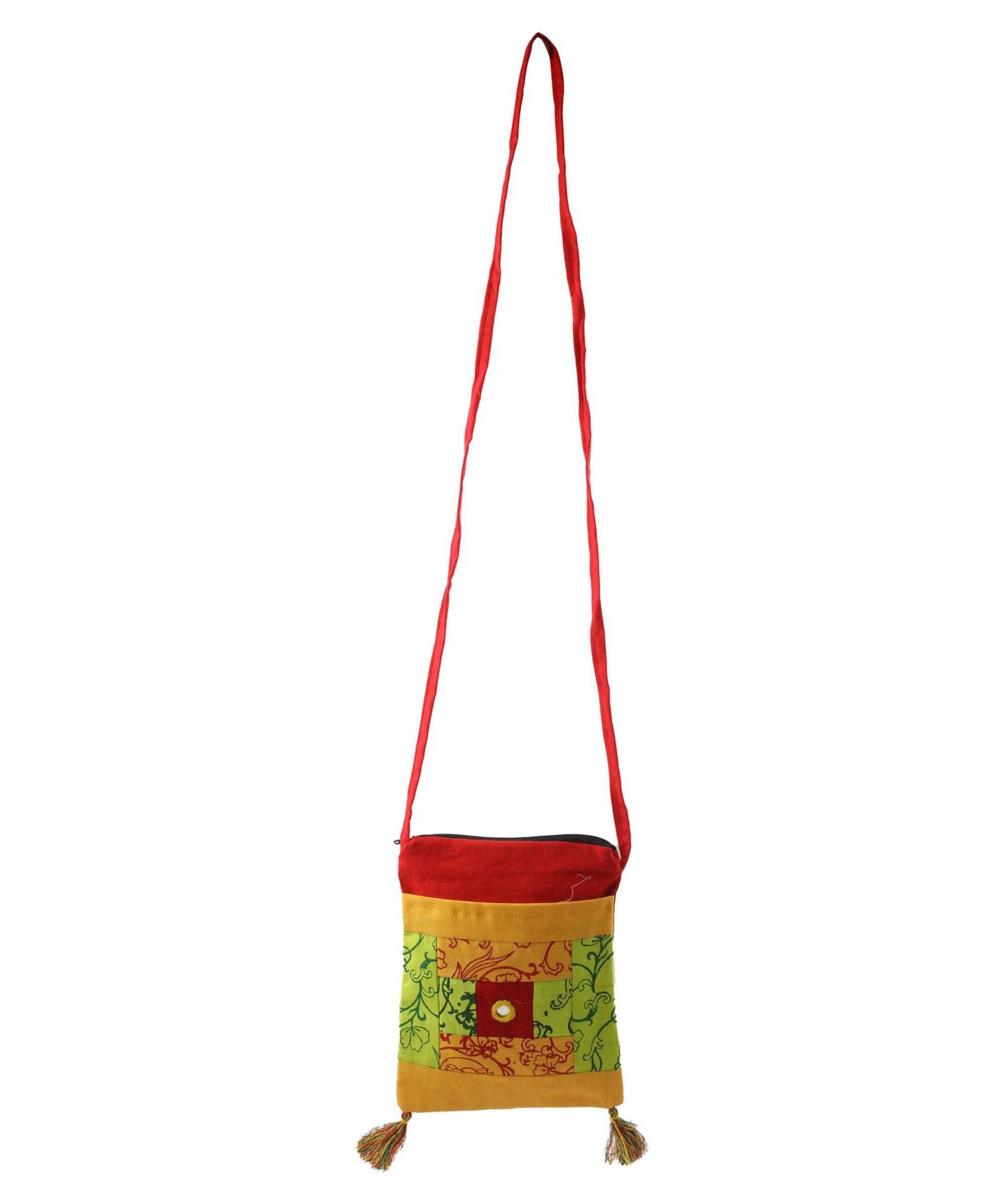 WIEA Turmeric Yellow Sling Bag (Set of 2) Slider 2/5