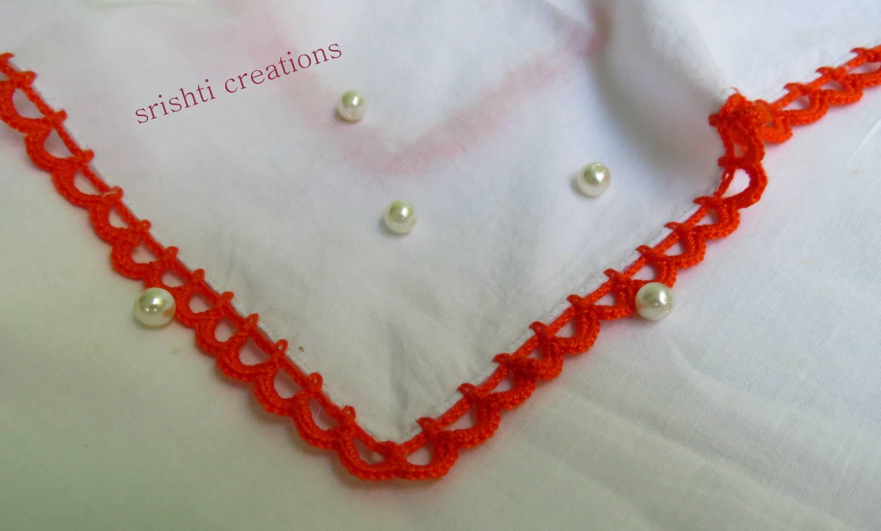 Crochet Handkerchiefs (Pack of 2) Slider Thumbnail 2/4