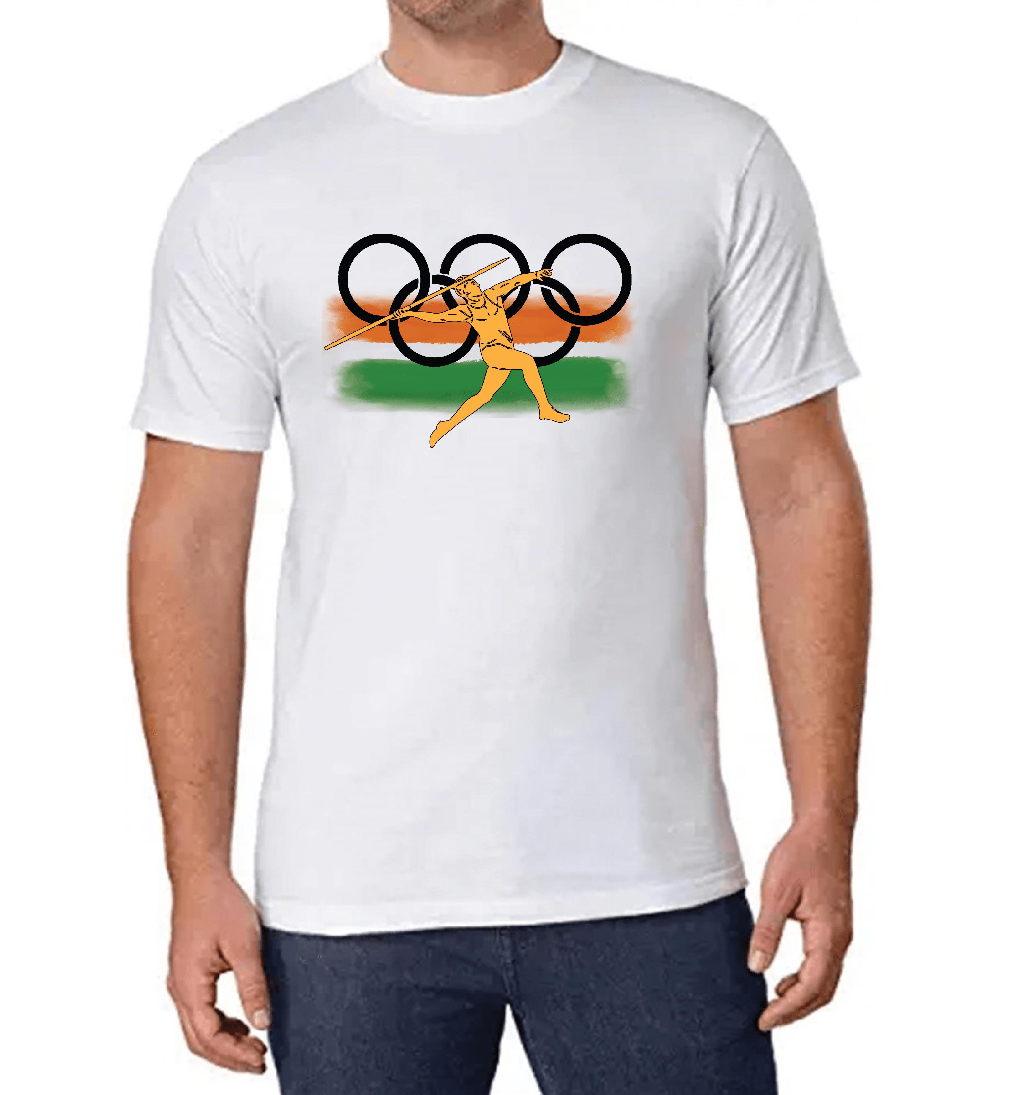 Olympics T-shirt for Men Slider Thumbnail 1/2