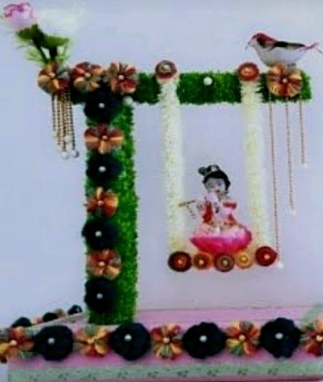 Krishna Janmashtami Swing (Jhula) Slider Thumbnail 1/1