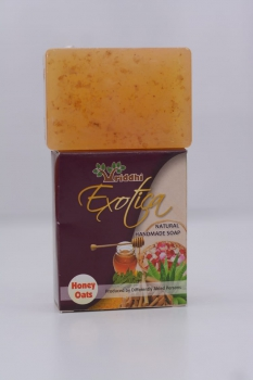 Natural Handmade Honey Oats Soap (Set of 5) Slider Thumbnail 2/2