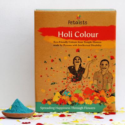 Eco-friendly Holi Colour Blue