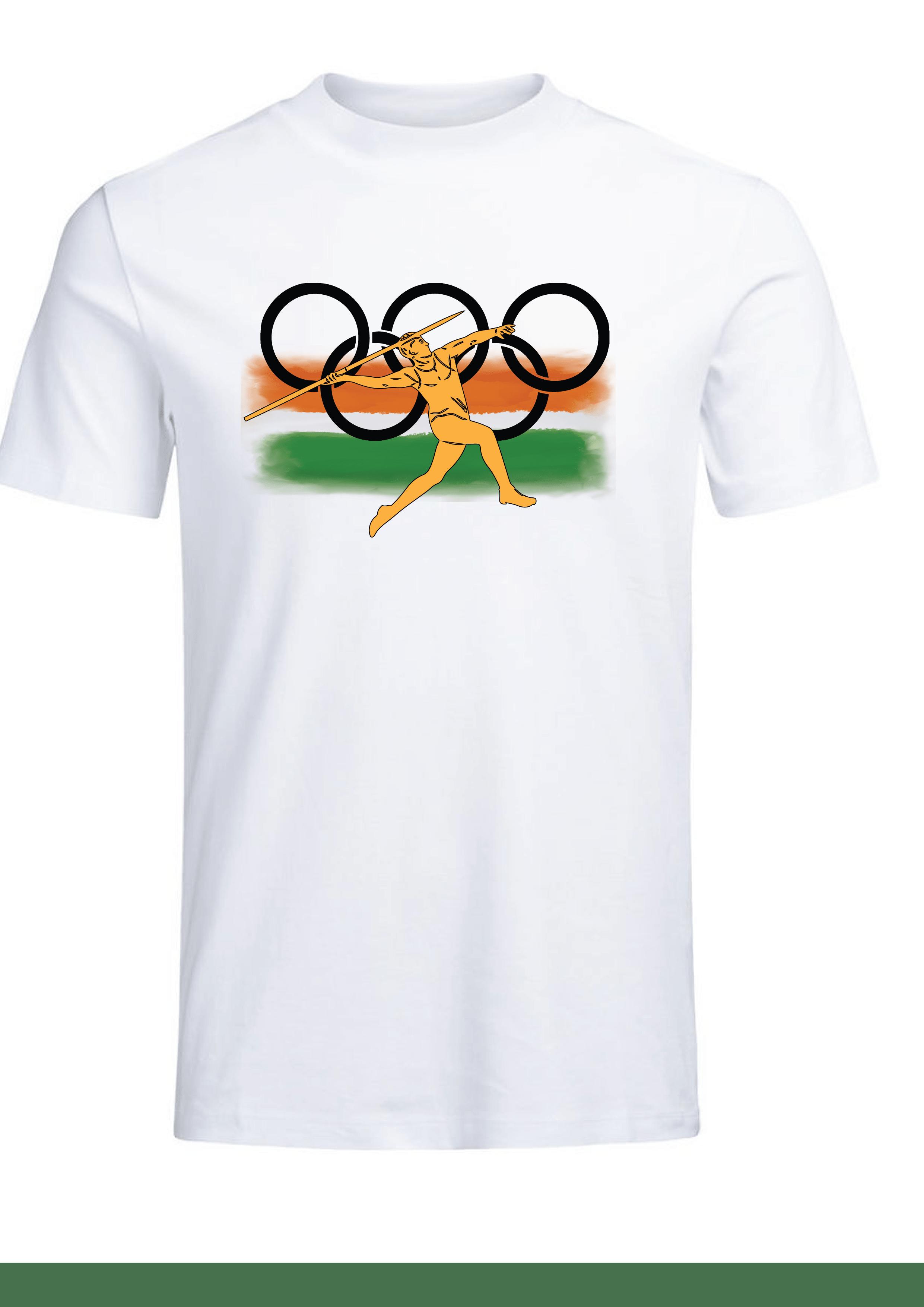 Olympics T-shirt for Men Slider Thumbnail 2/2