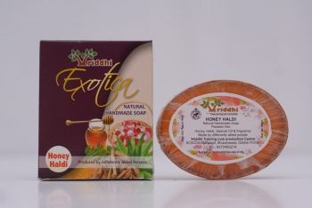 Natural Handmade Honey Haldi Soap (Set of 5)