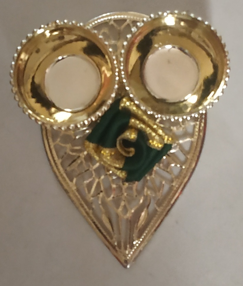 Leaf-Shaped Decorative Kankavati (Roli & Chawal Platter) (Set of 2) Slider Thumbnail 1/2