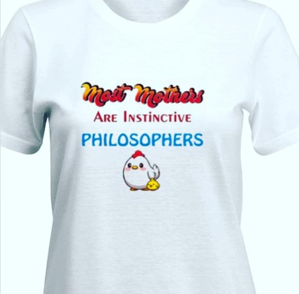 Most mothers are instinctive philosophers T-shirt for Women Slider Thumbnail 2/3