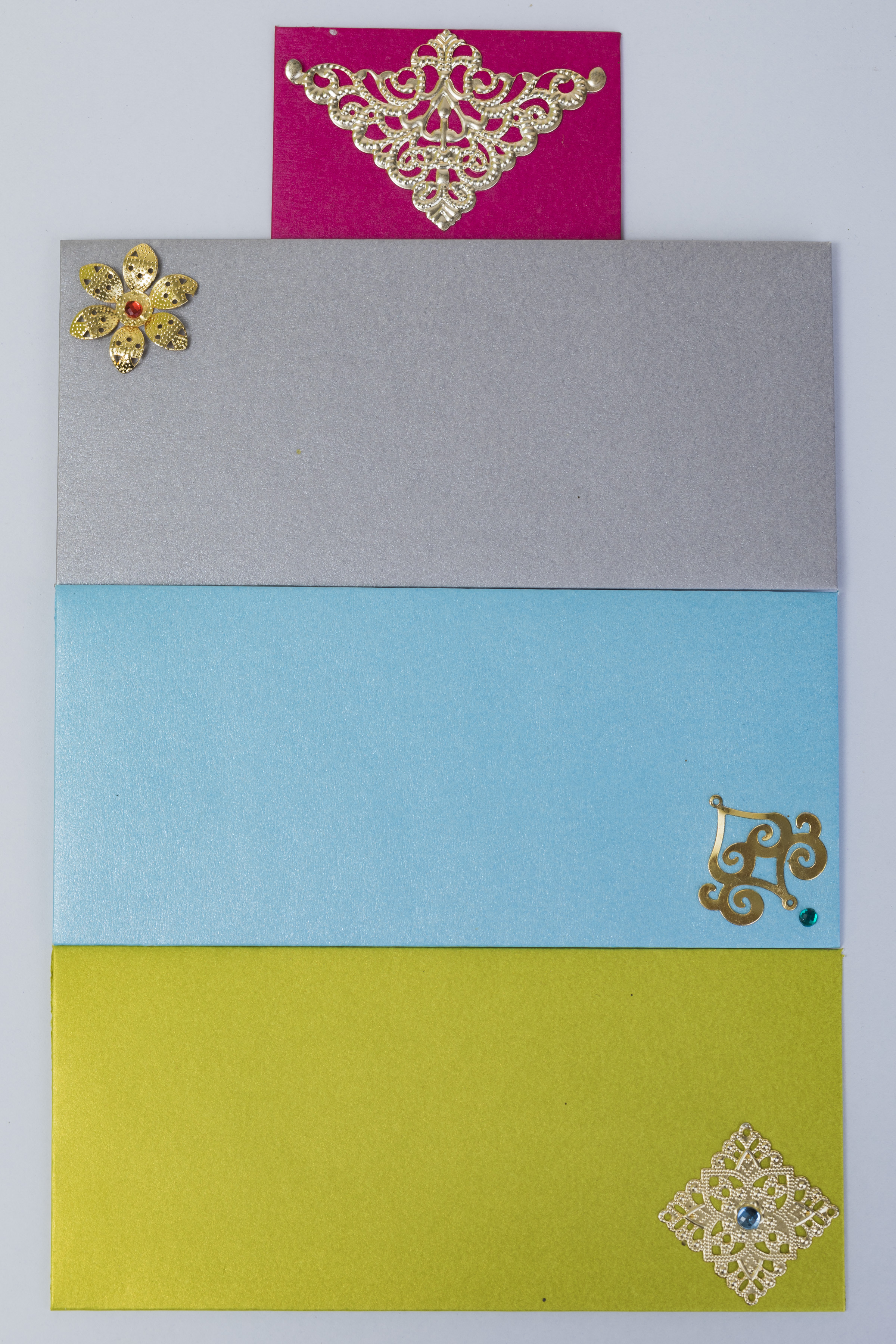 Assorted Recycled Paper Envelopes (Pack of 12) Slider Thumbnail 3/3