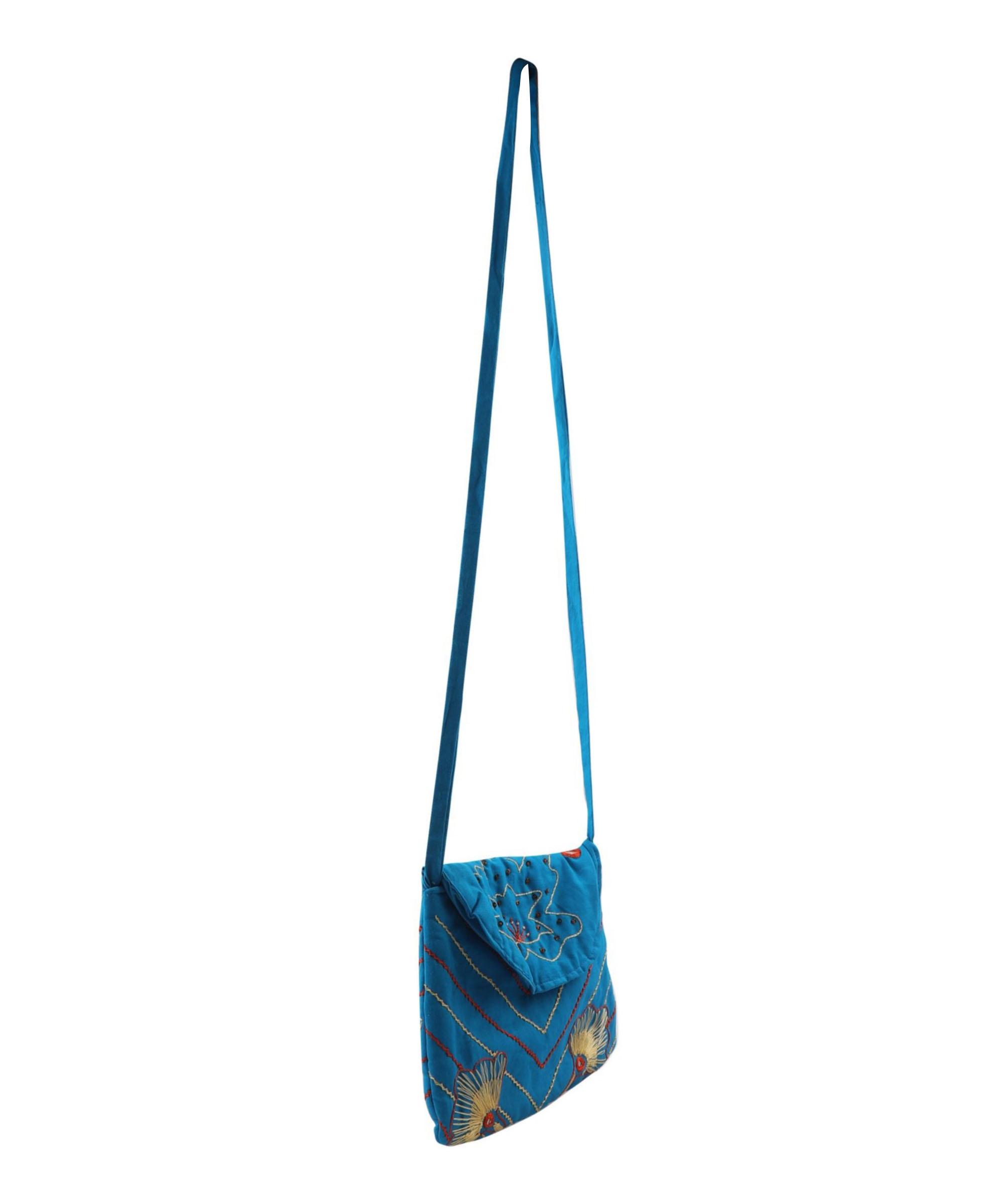 Embroidered Sling Bag Slider 3/5
