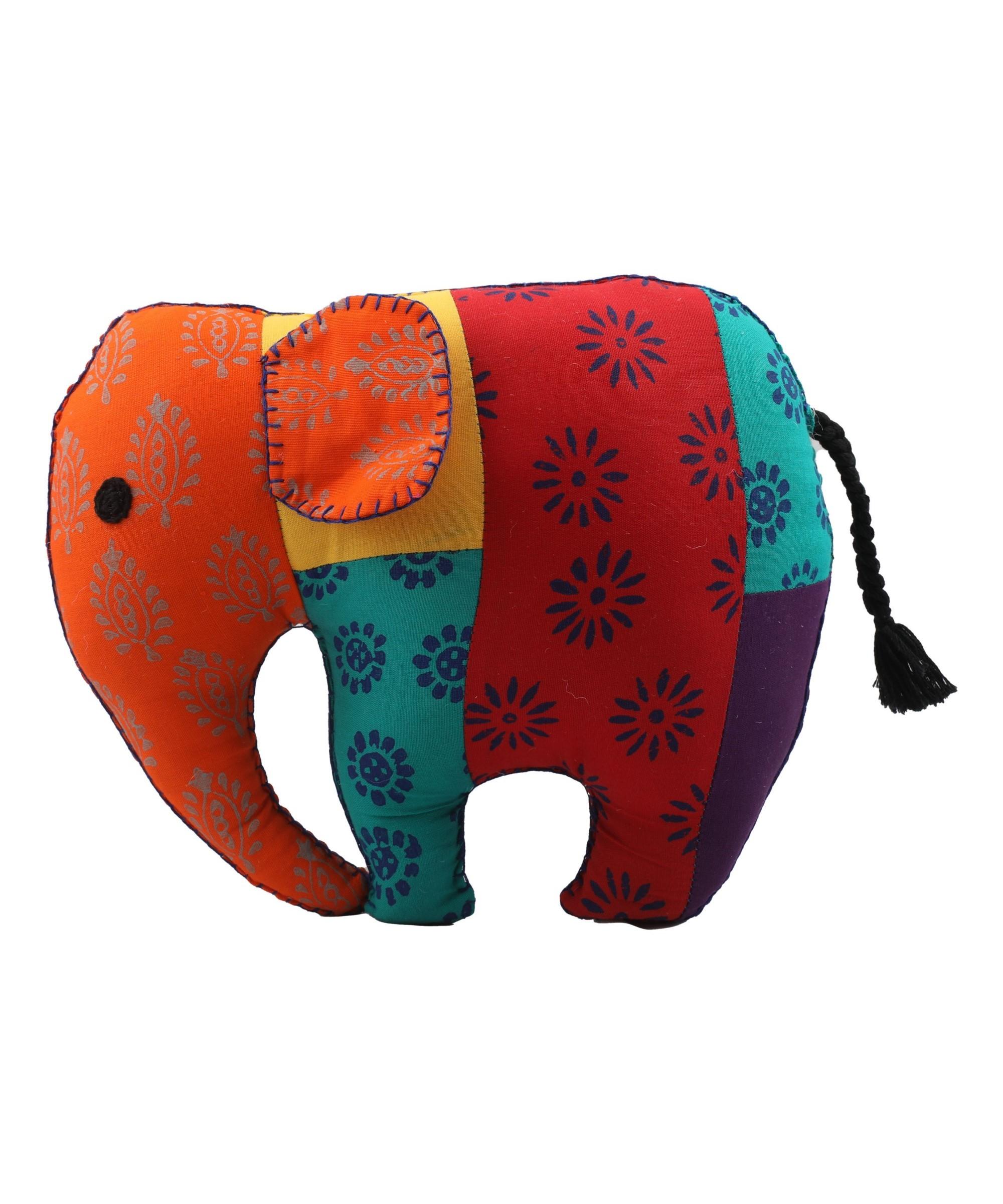 Elephant - Patchwork Soft Toy