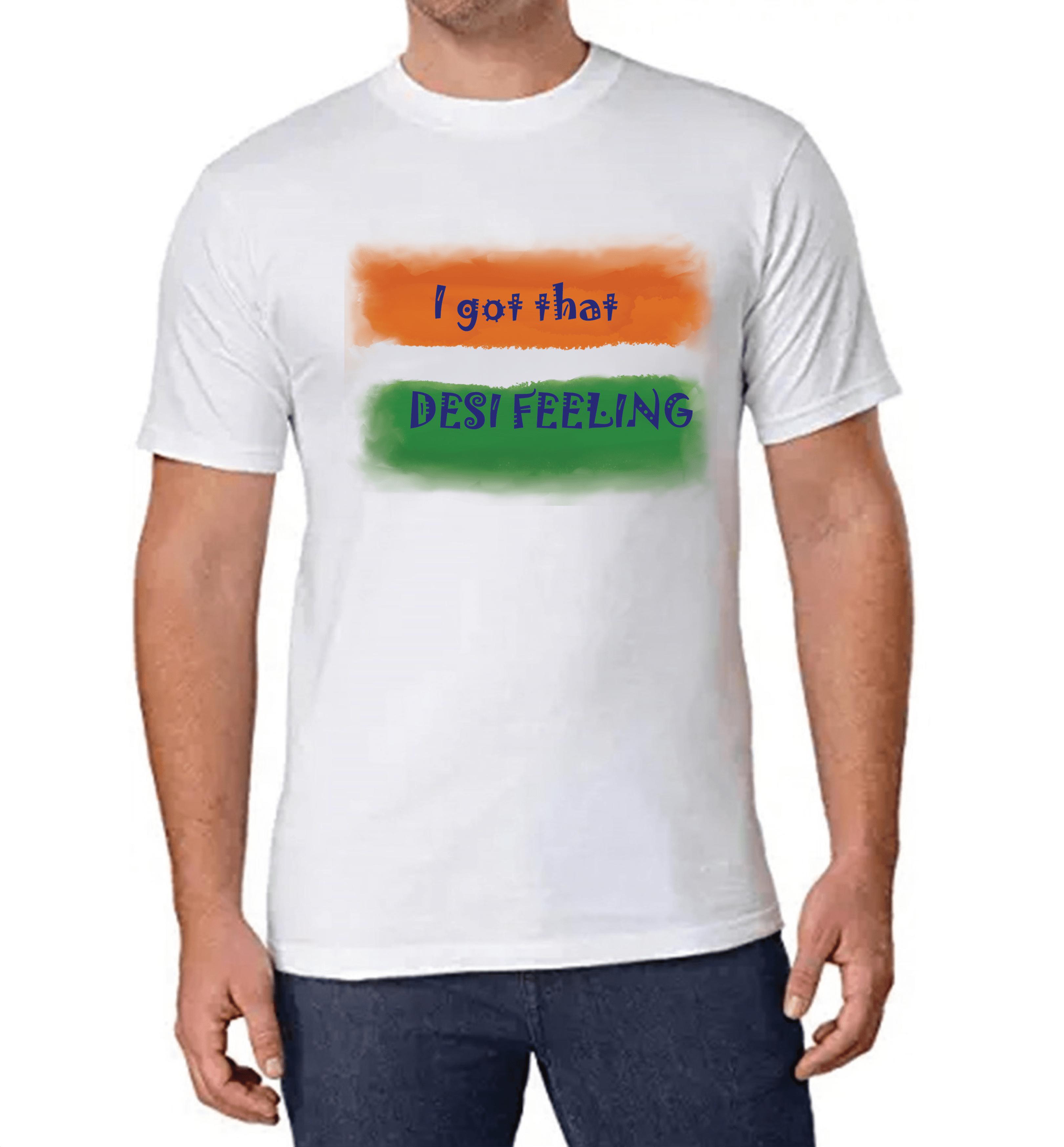 I got that Desi Feeling T-shirt for Men Slider Thumbnail 1/2