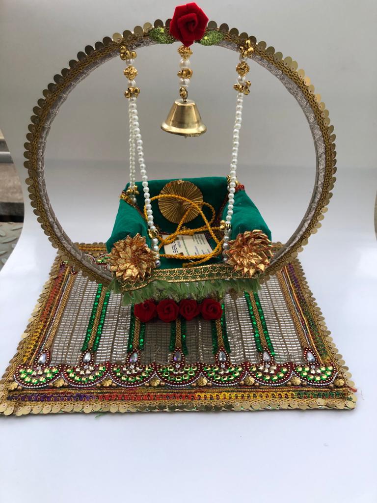 Janmashtami Swing (Jhula) with Bell
