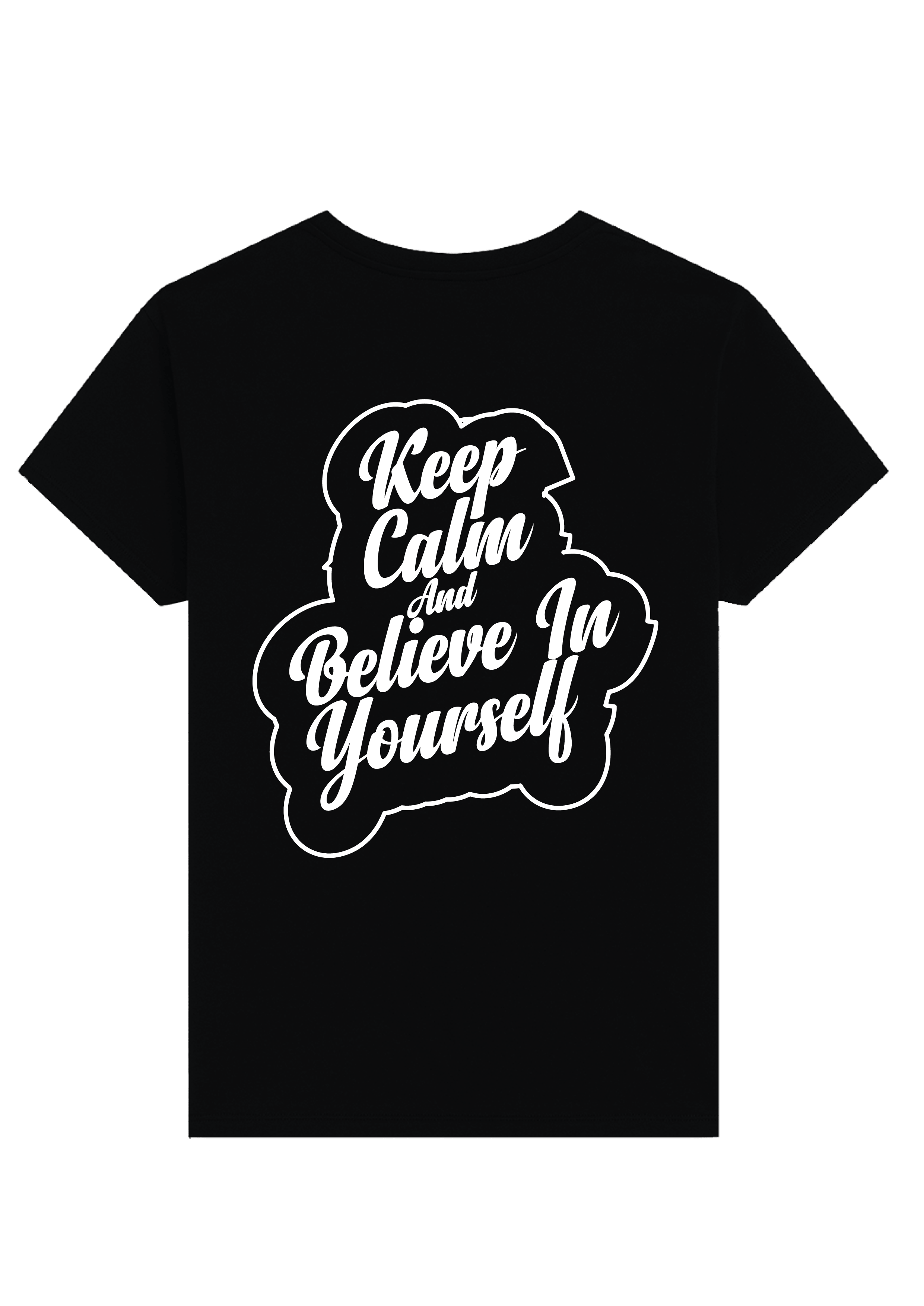 Keep calm and believe in yourself T-shirt for Men Slider Thumbnail 2/2