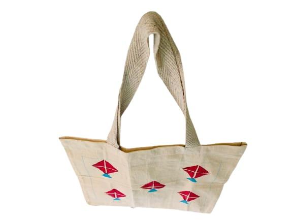 Kora Tote Bag with Red Kites Slider Thumbnail 3/5