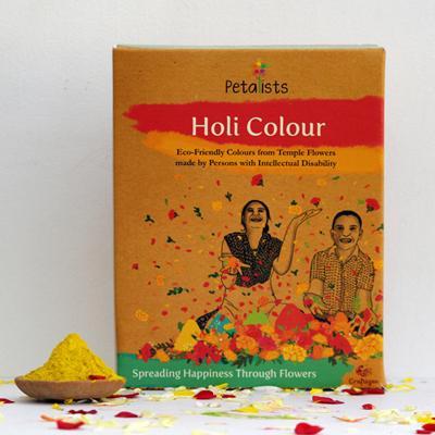 Eco-friendly Holi Colour Yellow