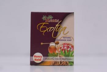Natural Handmade Honey Haldi Soap (Set of 5)