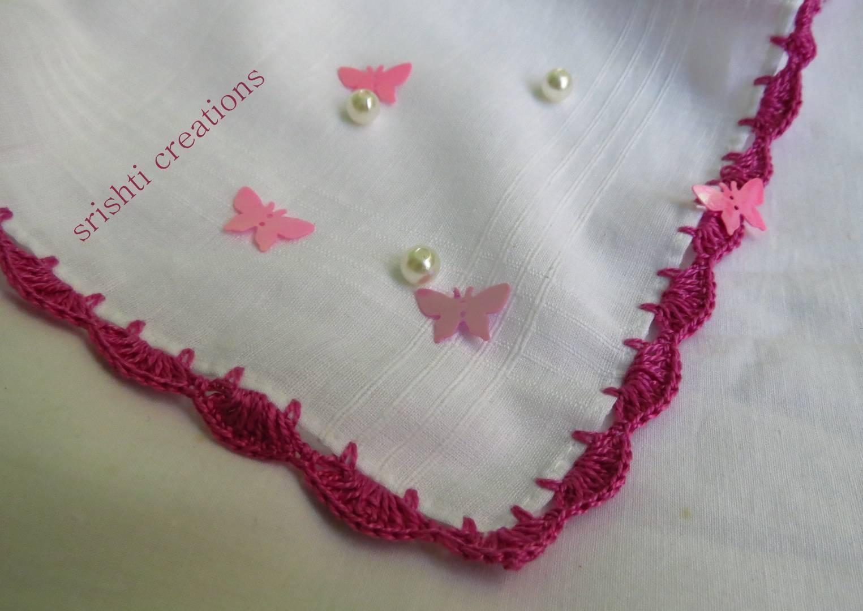 Crochet Handkerchiefs (Pack of 2) Slider Thumbnail 1/4
