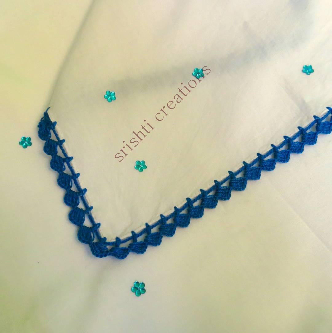 Crochet Handkerchiefs (Pack of 2) Slider Thumbnail 3/4