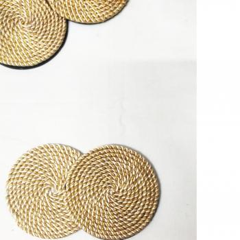 Golden Cord Coasters